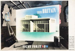 Your Britain - Fight for it Now (School) by Abram Games