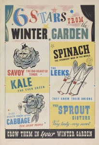 Six Stars From the Winter Garden by Anonymous