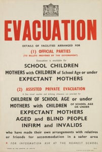 Evacuation by Anonymous