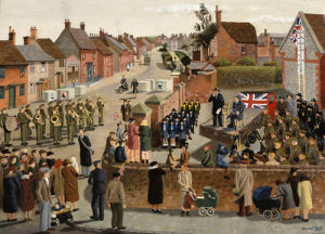 War Weapons Week in a Country Town by Michael Ford