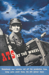 ATS at the Wheel by Beverley Pick