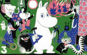 Moomintroll and Friends by Tove Jansson