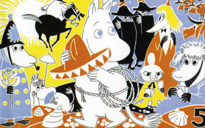 Moomin Rodeo by Tove Jansson