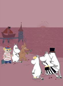 Moomins by Tove Jansson