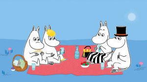 Moomin Picnic by Tove Jansson