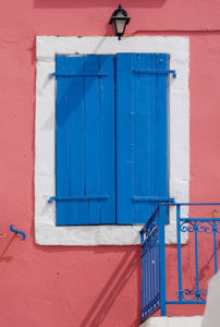 Stay cool with shutters closed by Kim Sayer