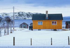 An Arctic Retreat by Kim Sayer