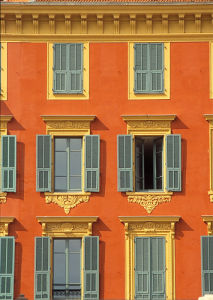 A French Facade by Kim Sayer