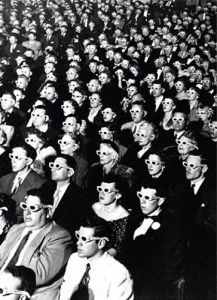 3D Movie Viewers by J.R. Eyerman