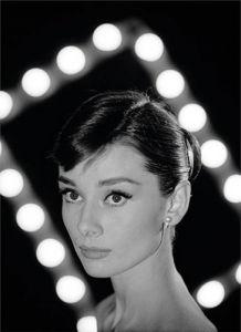 Audrey Hepburn - Portrait by Allan Grant