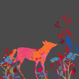 Foxy Forget Me Not by Tiffany Lynch