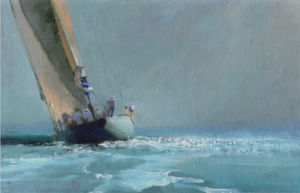 In The Solent by John Harris