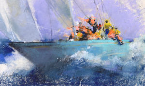Ploughing Through 2 by John Harris