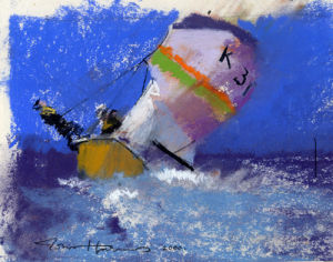 Early Yacht 2 by John Harris