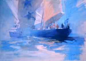 Passing Endeavour by John Harris