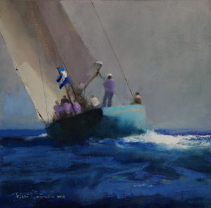 Solent Sailing by John Harris