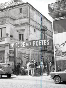 Poets Fair, Paris 1963 by Alan Scales