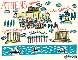 A Snapshot of Athens by Julia Gash