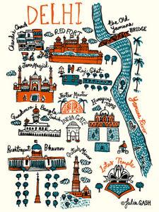 Delhi by Julia Gash