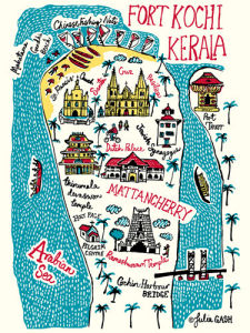 Fort Kochi and Kerala Cityscape by Julia Gash