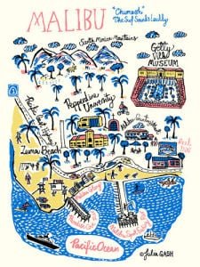 Malibu Cityscape by Julia Gash