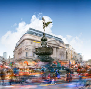 Eros, Piccadilly Circus by Henry Reichhold