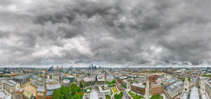 View from St Pauls Cathedral by Henry Reichhold