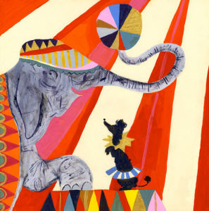 Jumbo and Friend by Louise Cunningham