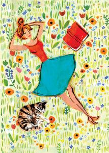 Sunbathe by Louise Cunningham