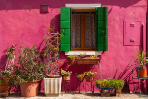 Colorato Burano by Julian Elliott