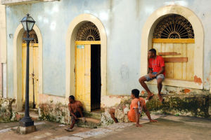 Young men in Sao Luis by Andia