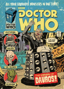 Doctor Who - The Origin of Davros by Anonymous