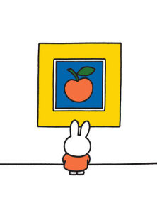 Miffy at the Gallery by Dick Bruna