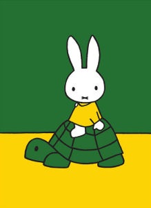 Miffy and Tortoise by Dick Bruna