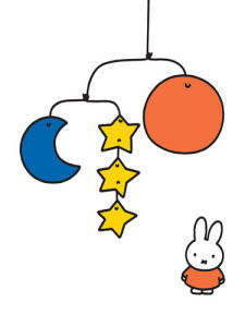 Miffy and Mobile by Dick Bruna