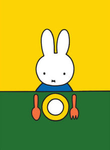 Miffy Dinnertime by Dick Bruna