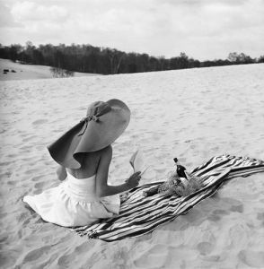 Vogue July 1948 by Don Honeyman