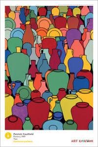 Pottery by Patrick Caulfield