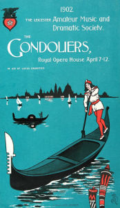 The Gondoliers, Royal Opera House 1904 by The National Archives