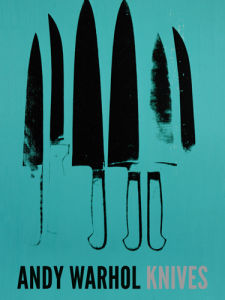Knives, c.1981-82 (aqua) by Andy Warhol