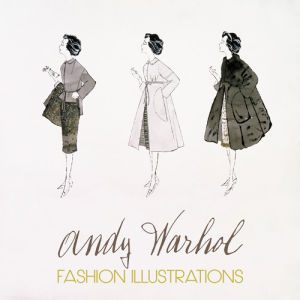 Three Female Fashion Figures, c.1959 by Andy Warhol