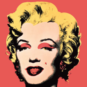 Marilyn, 1967 (on red ground) by Andy Warhol