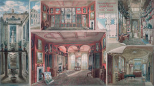 Composite view of Lincoln's Inn Fields by Joseph Michael Gandy