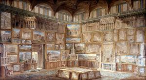 Various buildings [designed by John Soane] 1780-1816 by Joseph Michael Gandy