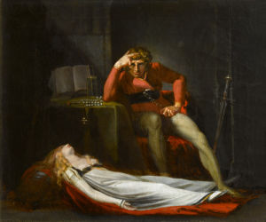 The Italian Count by Henry Fuseli