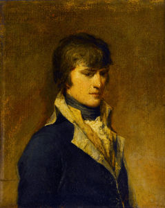 Napoleon Buonaparte in His 29th Year Painted at Verona by Francesco Cossia