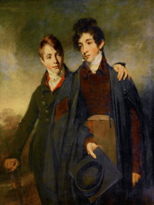 John Soane Junior and George Soane by William Owen