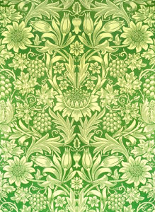 Sunflower by William Morris