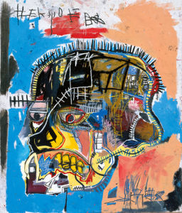 Untitled (Skull) 1981 by Jean-Michel Basquiat