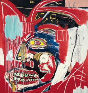 In This Case, 1983 by Jean-Michel Basquiat